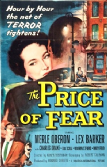 The Price of Fear 1956 DVD - Merle Oberon / Lex Barker